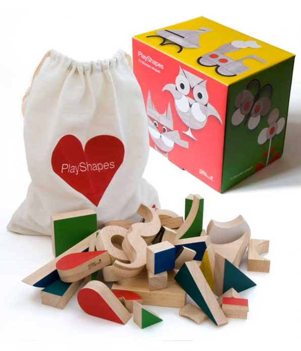Educational play shapes