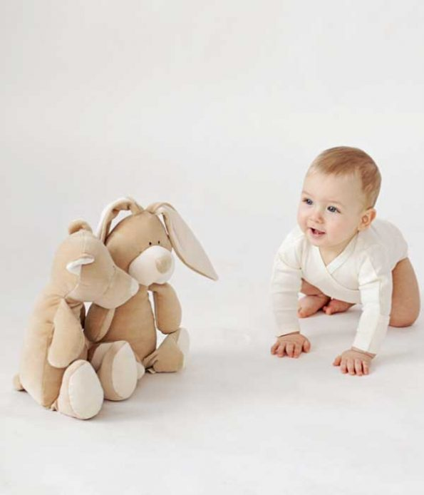 Soft toys made with organic cotton