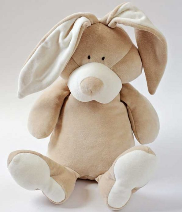 Organic bunny soft toy