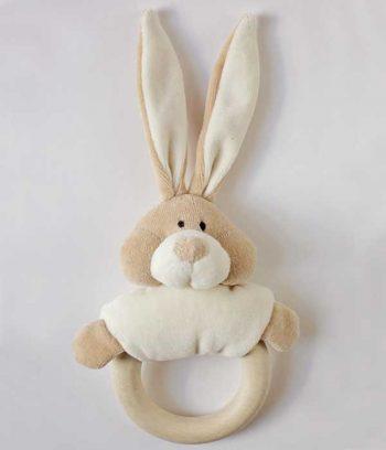 Organic Bunny Rattle