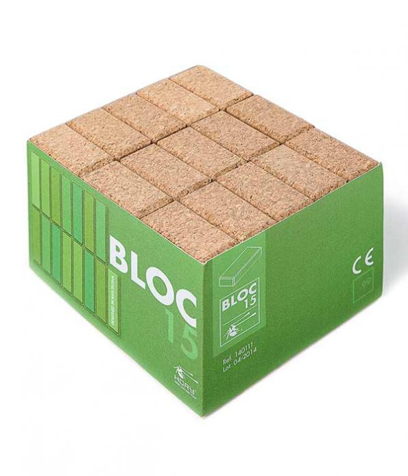 Cork blocks 15 pieces