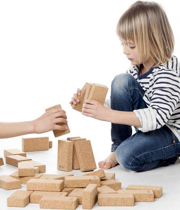 Cork Blocks for Children