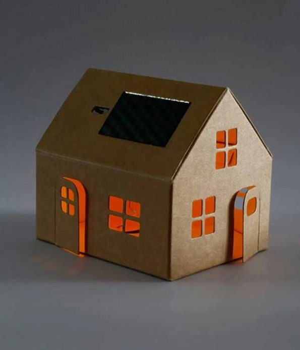 Solar Light House Toy
