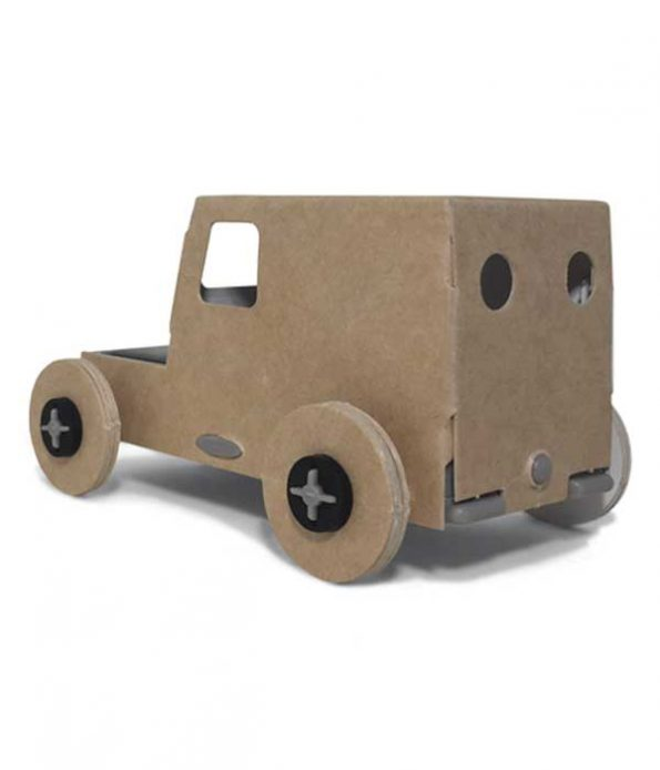Solar panel car toy