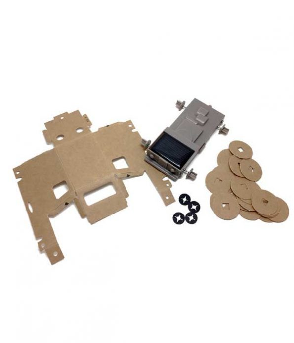 Solar toy assembly