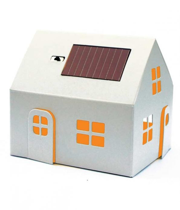 Eco solar house toy