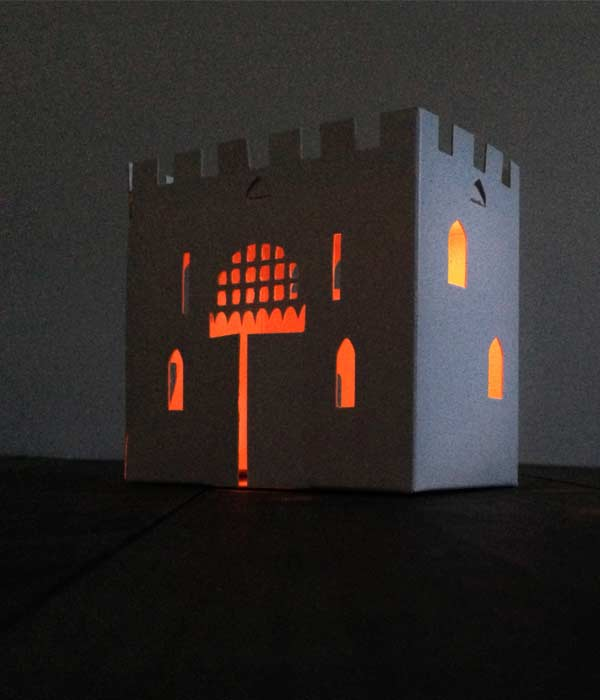 Solar light Castle Toy