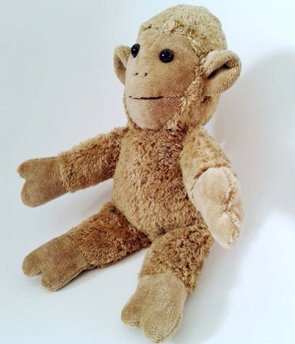 Toto Monkey Toy for Wool Allergy