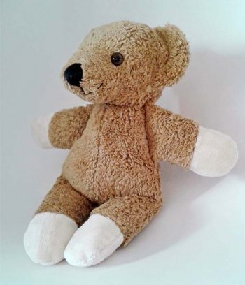 Eco toys teddy bear