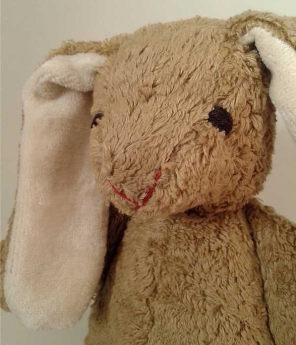 Organic Rabbit Soft Toy