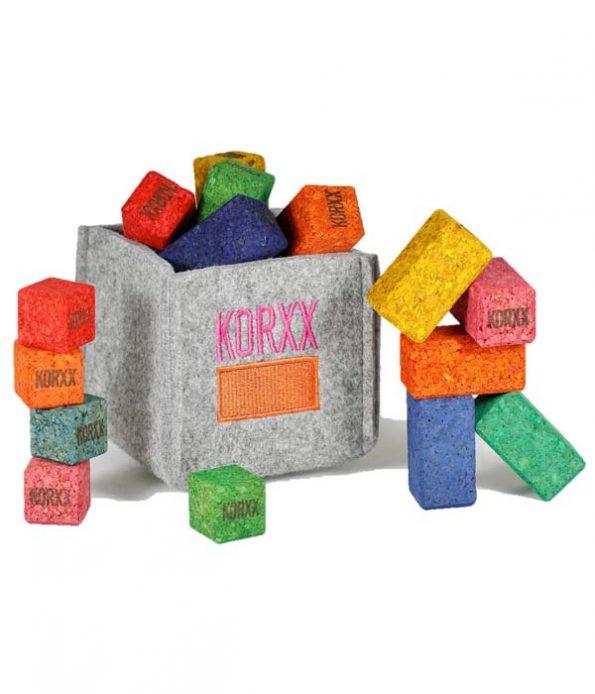 Sustainable cork toys