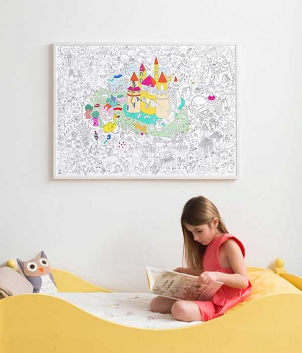 Magic decoration poster for children