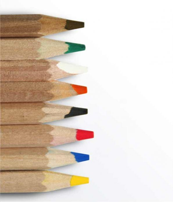 Oeko Norm eco coloured pencils