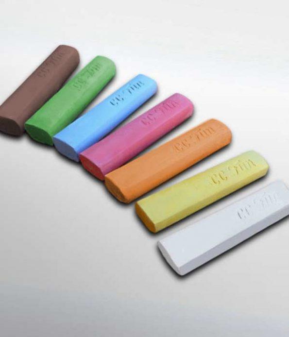 Colour chalk stick