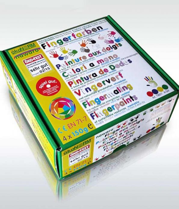 Ecological Finger Paint for Children