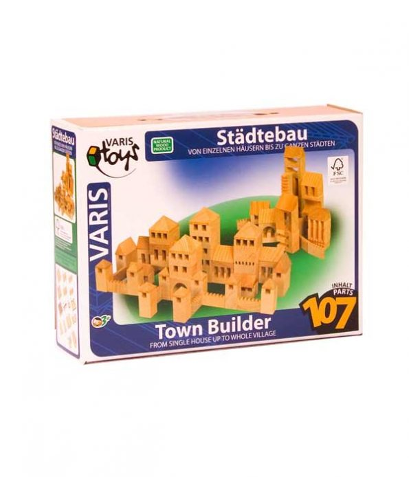 Wooden Building Set Package