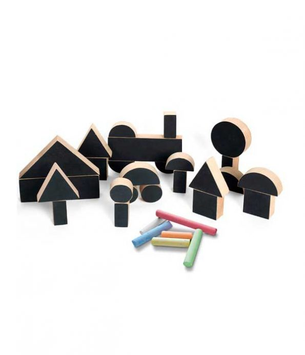 Wood and Chalk Eco Toys