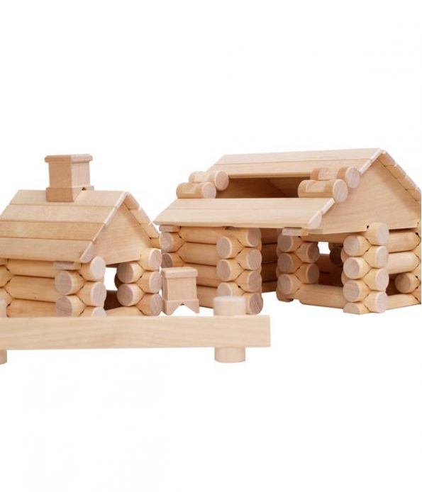 Ecological Wooden constrution set