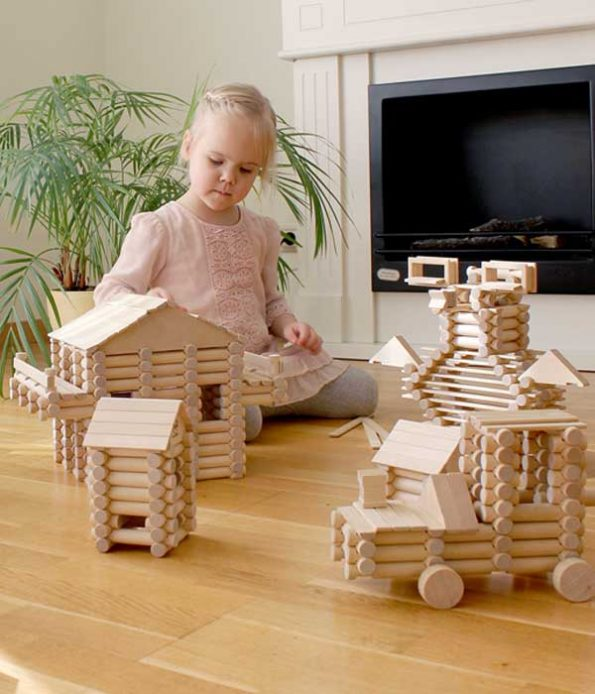 Ecological toys made of certified wood