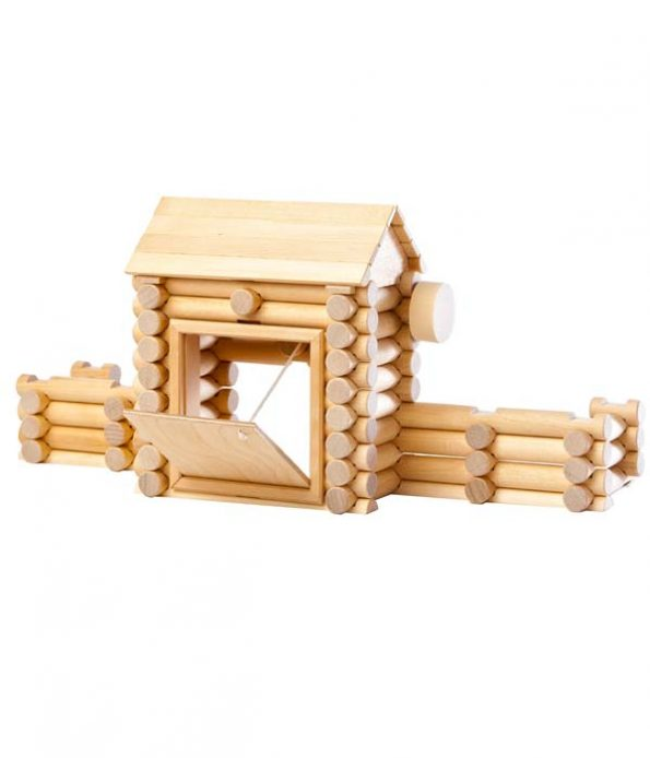 Wooden fort toy