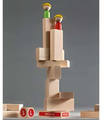 Building game with blocks