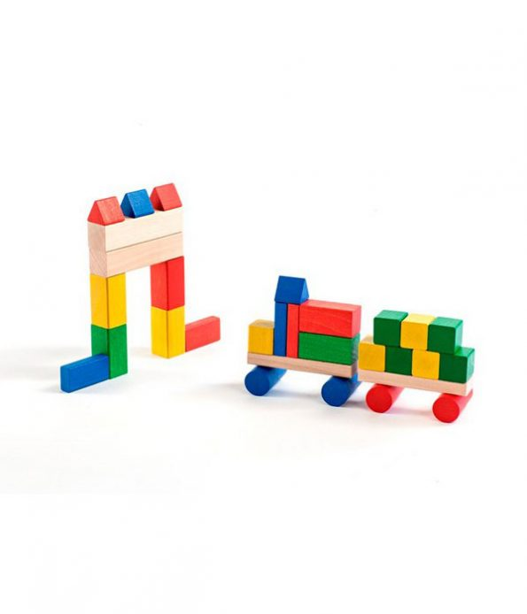 Wood Color Block Toys