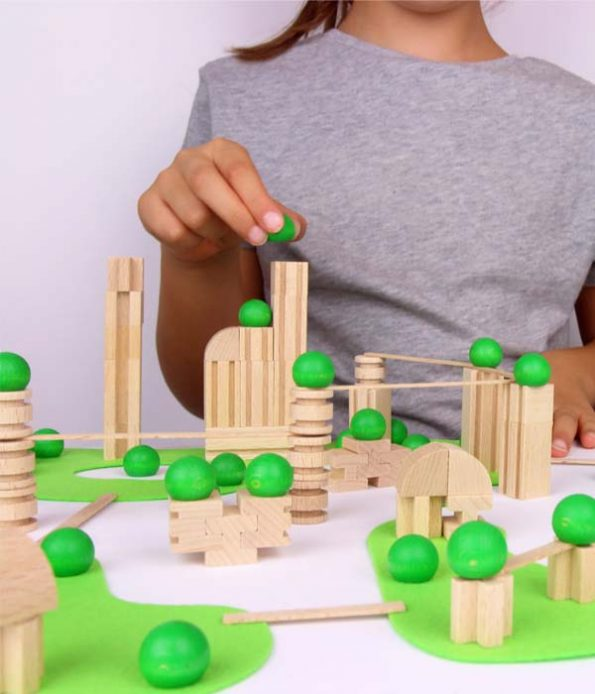 City model toy for children