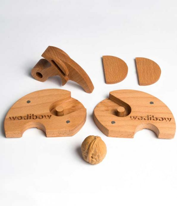 Wodibow Nanodont wooden pieces