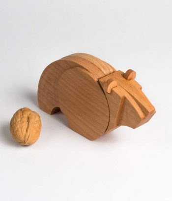 Eco friendly toy made of wood