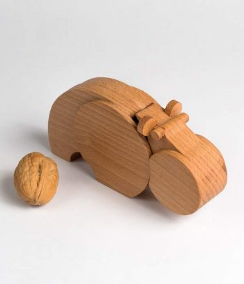Wooden Hippo toy