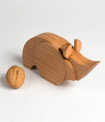 Rhino Toy made of wood
