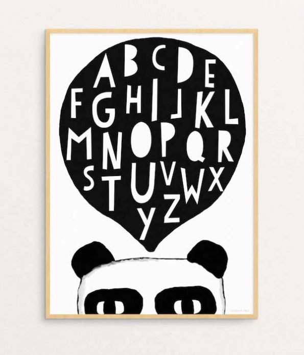 Panda Print Seventy Tree