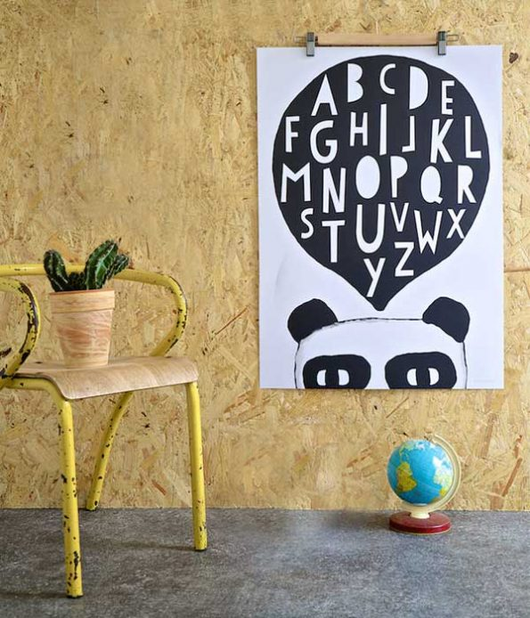 Giant Panda paper print decor