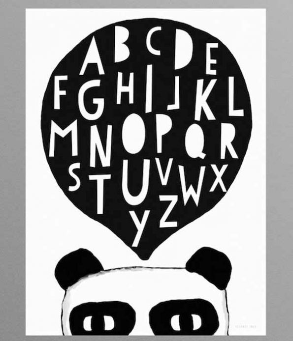 Kids Room Decoration Panda