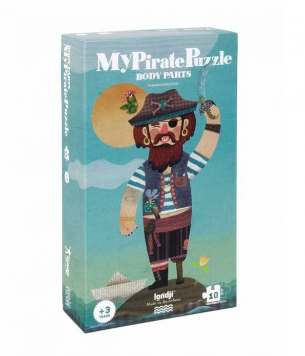Pirate Toys Sustainable Recycled