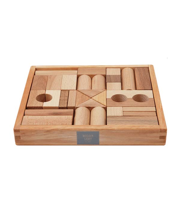 Natural wood FSC certified toys