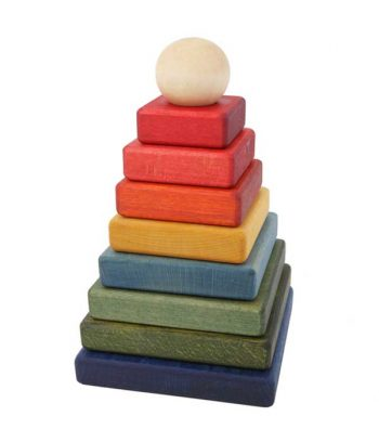 Pyramid coloured toy