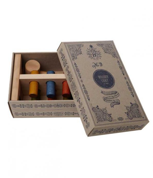 Beautiful cardbox for gifts and toys