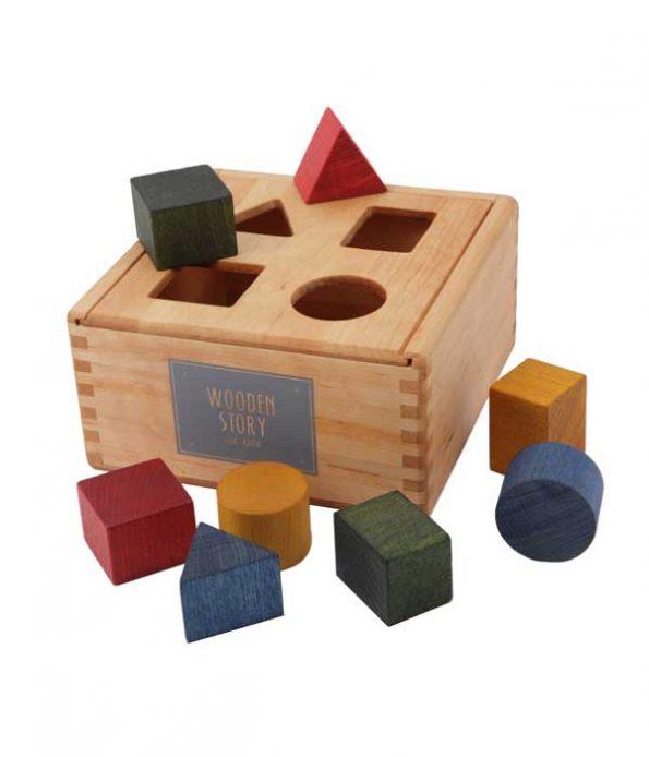 Shape sorter box toys