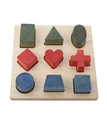 Shape puzzle wooden toy